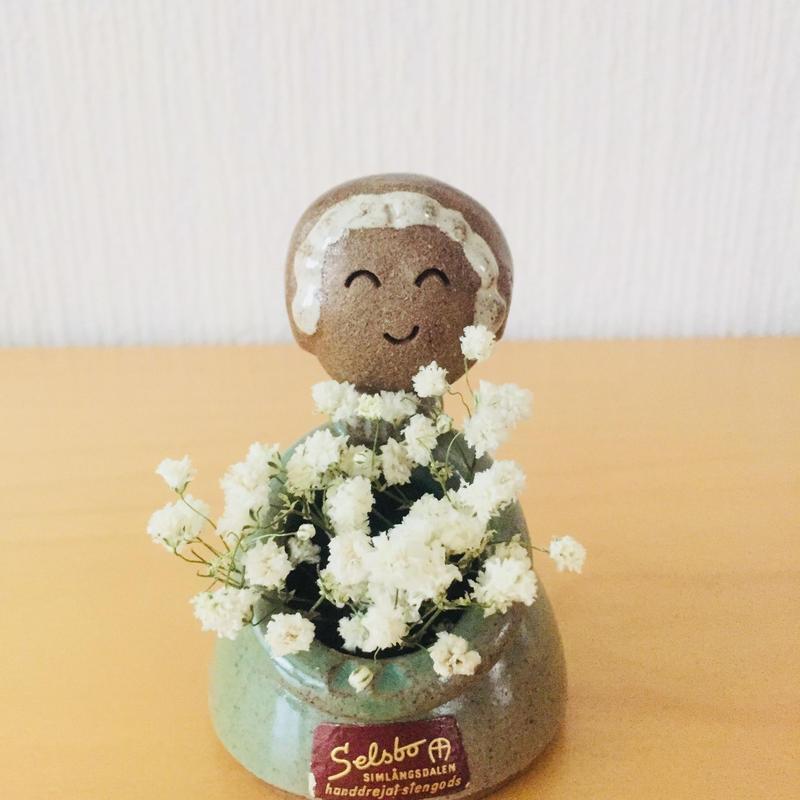 Selsbo keramik/セルスボーセラミック/フラワーガール