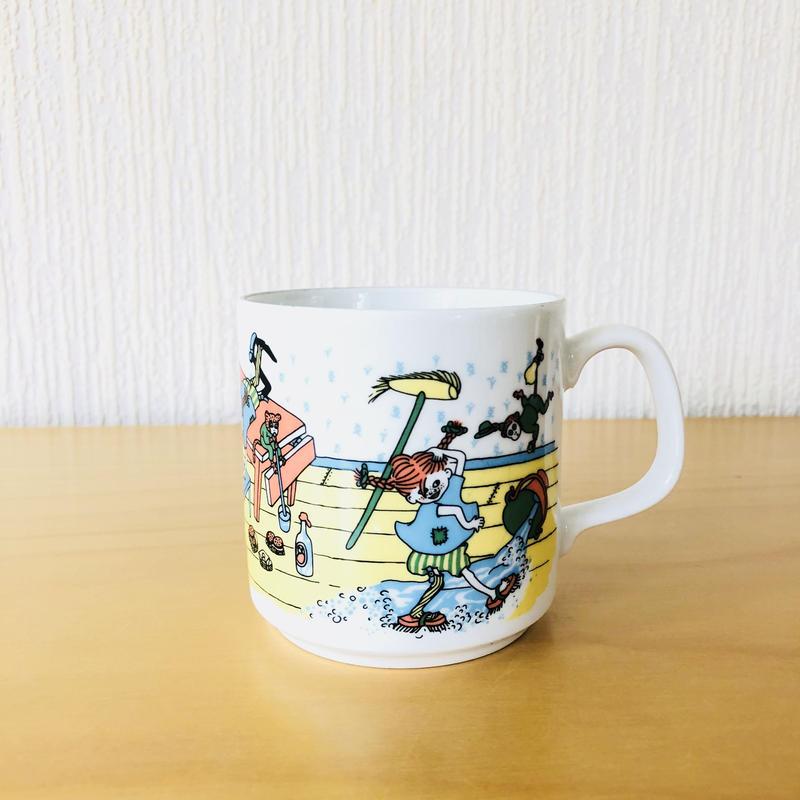 Rörstrand/ロールストランド/長靴下のピッピ/マグカップ