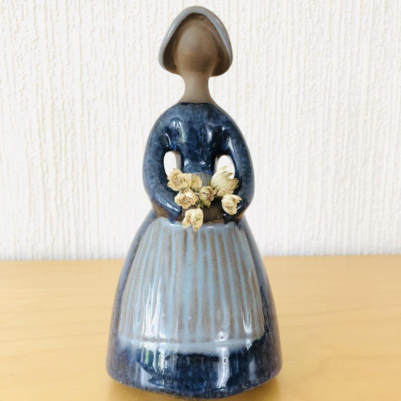 Jie Gantofta/ジィ ガントフタ/フラワーガール/D.Blue/19cm