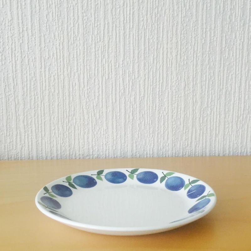 Gustavsberg/グスタフスベリ/Prunus/プルーヌス/ケーキプレート/17-01