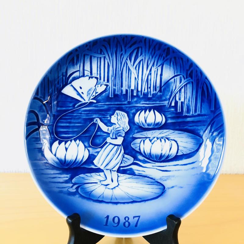 Desiree/デシリー/イヤーズプレート/1987年/アンデルセンシリーズ/おやゆび姫