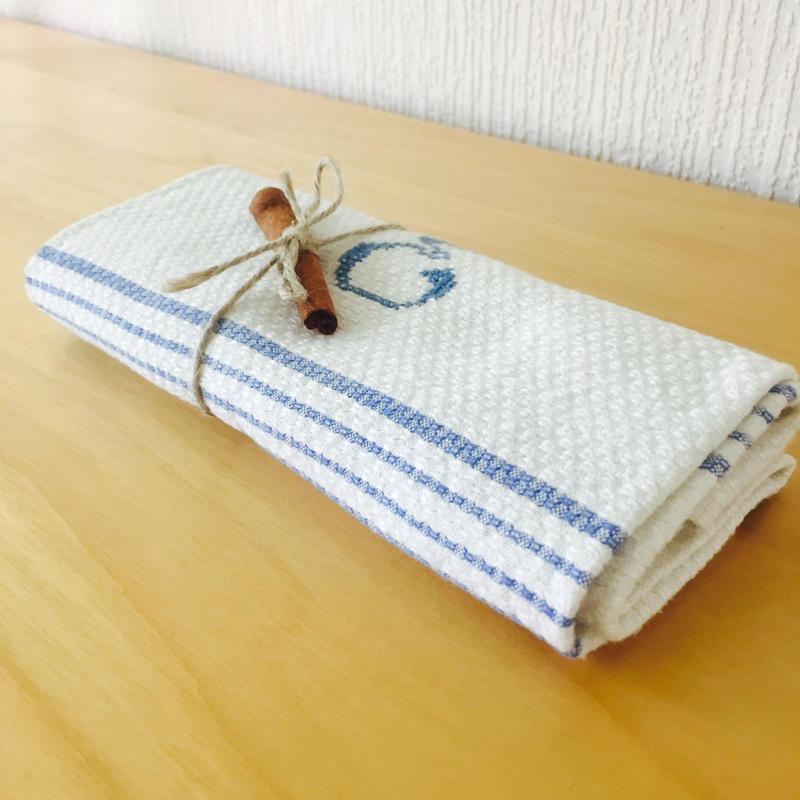 ヴィンテージキッチンクロス/手織り