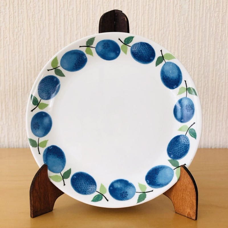 Gustavsberg/グスタフスベリ/Prunus/プルーヌス/ケーキプレート/17cm/17-05