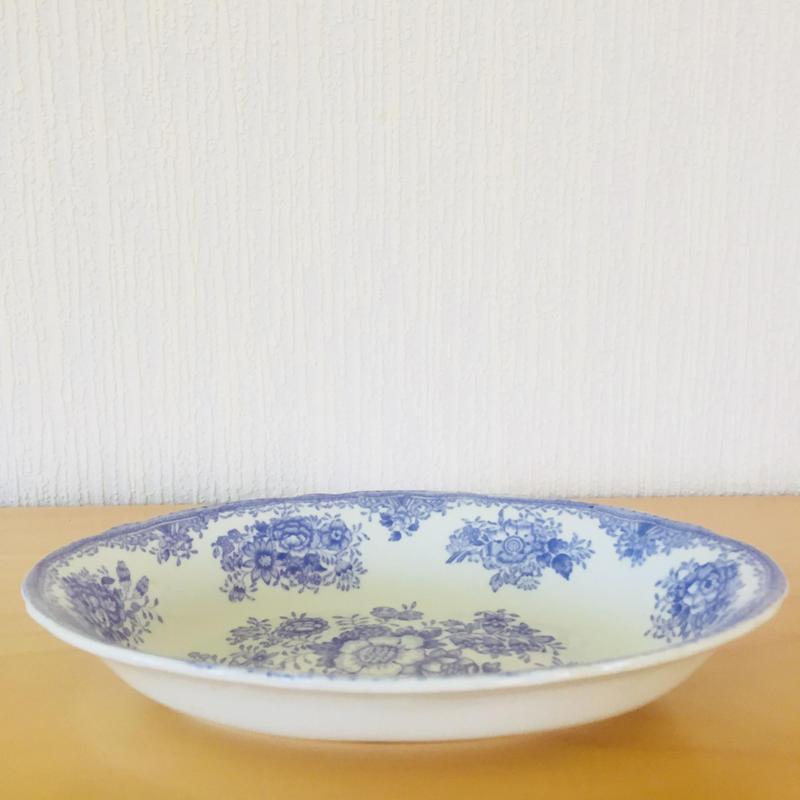 Old Gustavsberg/オールド グスタフスベリ/Fasan/ファサン/オーバル皿/パープル