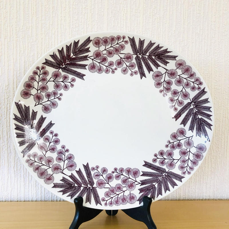 Gefle/ゲフレ/Mimosa/ミモザ/オーバルプレート/28,5cm