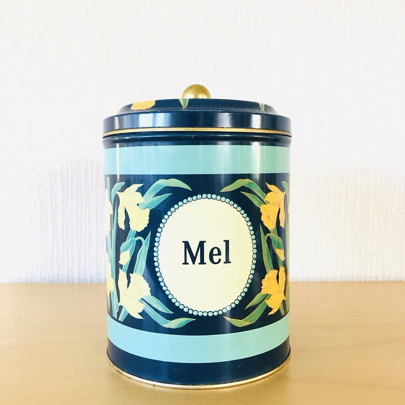 Irma Flicka/イヤマちゃん/Mel Burk/小麦粉入れ/ヴィンテージ缶