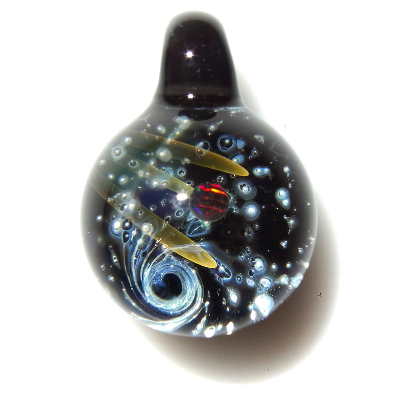 [UBMP-29] meteor black planet pendant