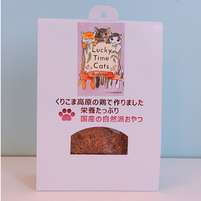 Lucky Time Cats  むね・ももジャーキー(フレーク)