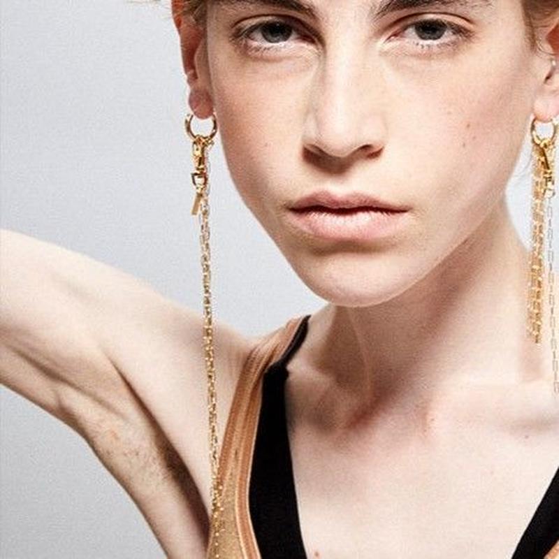 long chain earring/ul0076