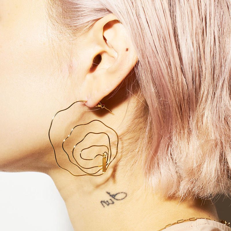 calla basic earrings /0108