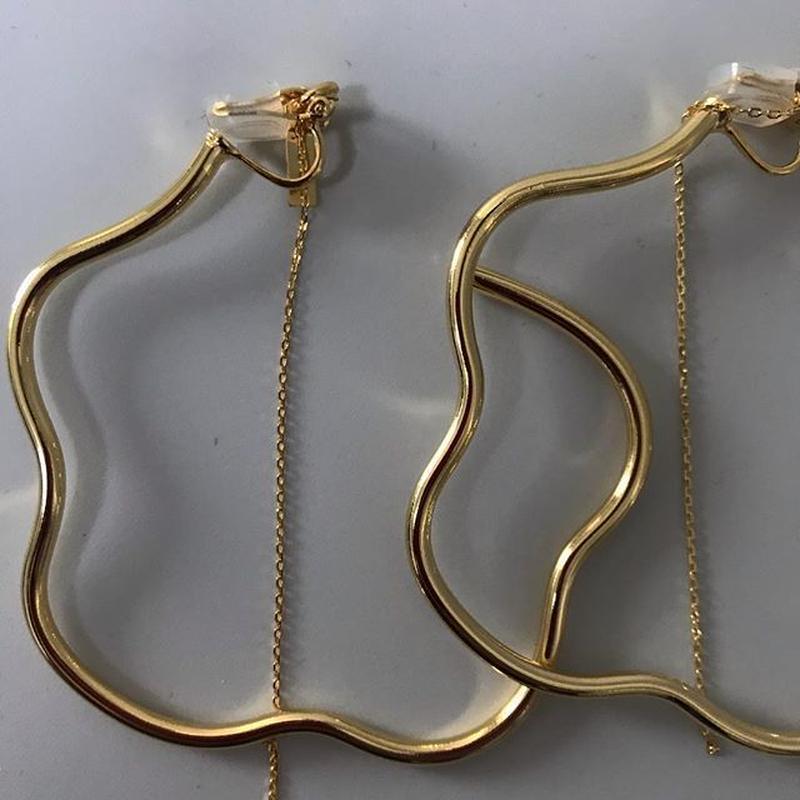 flower earrings2(イヤリング)/0050