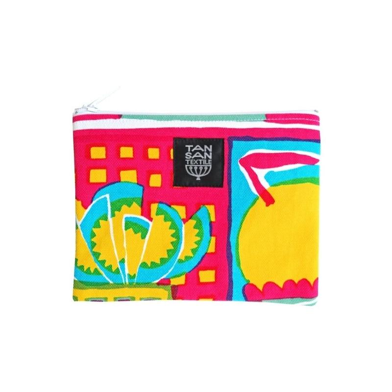 odekake POUCH 「welcome fruits」pink