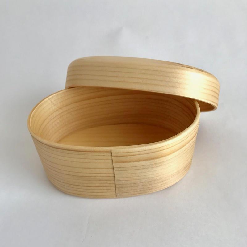 オケクラフトさんのお弁当箱 豆曲げ輪