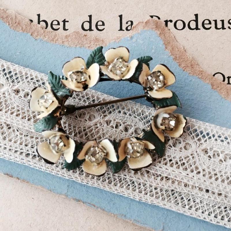 costume jewelry / brooch コスチュームジュエリー ブローチ    ■td-748