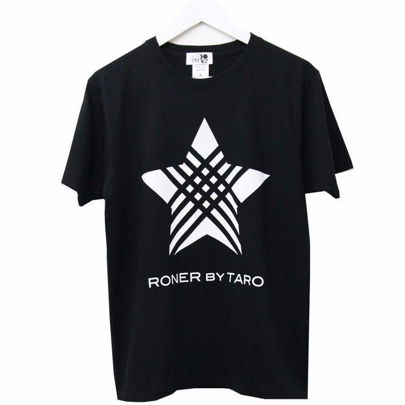 RONER  STAR  t-shirt  BLACK