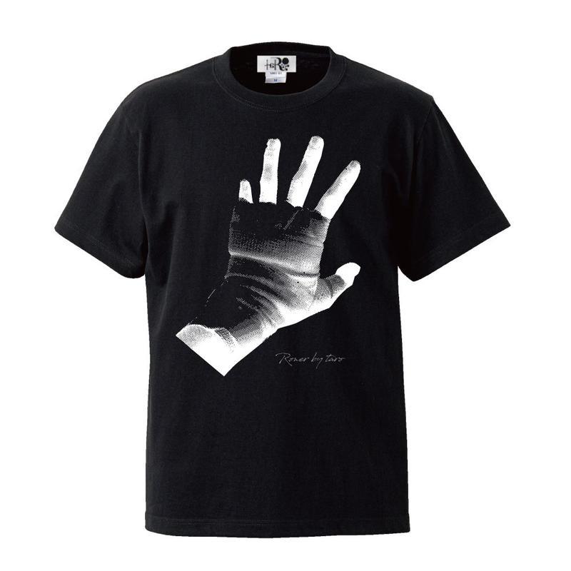 RONER  Rob T-shirt  BLACK