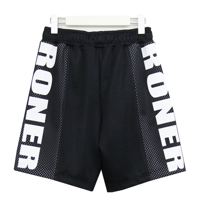 RONER  Mesh mix  Jersey short pants  【setup series No.002】