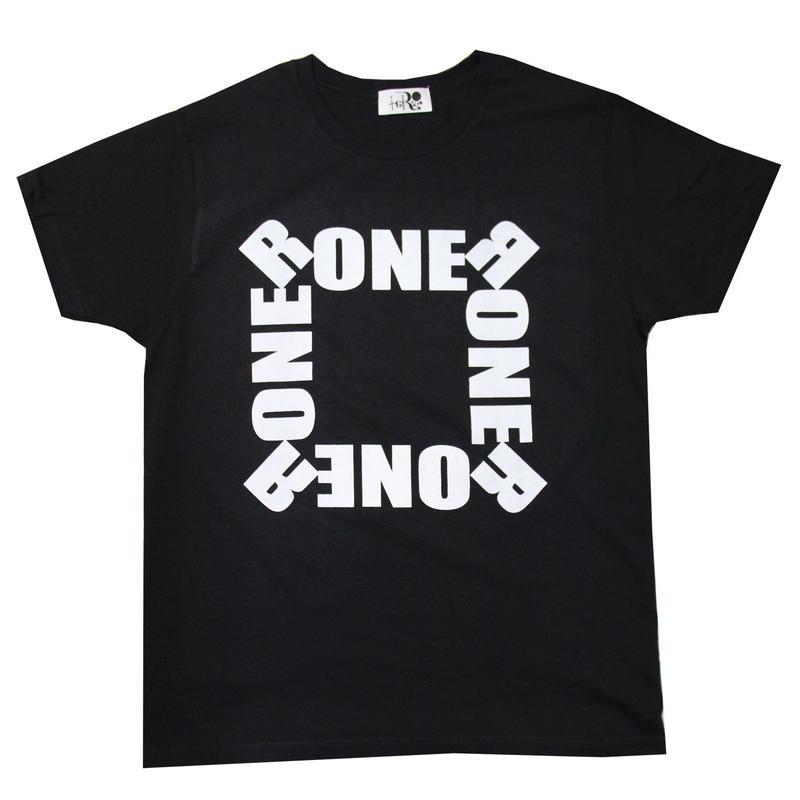RONER by taRo リングTシャツ ブラック