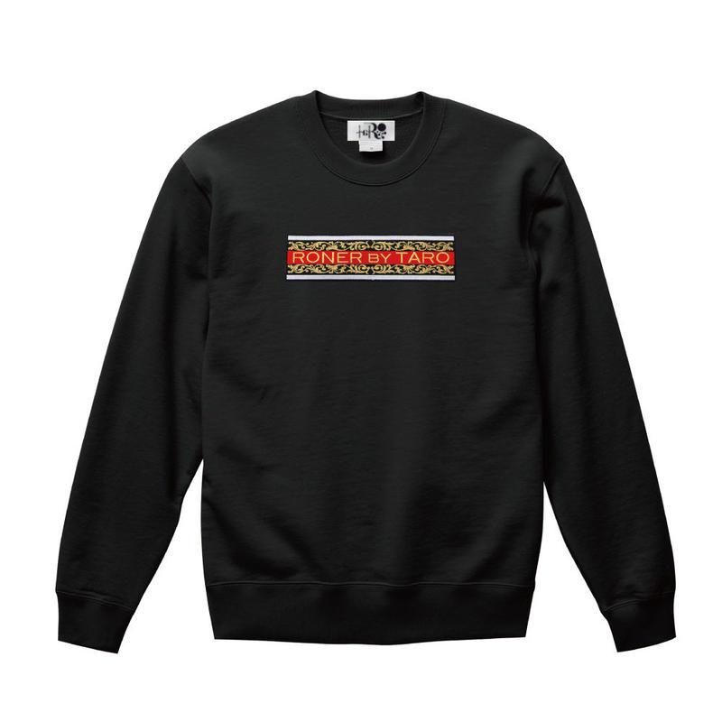 RONER Arabesque Box logo  sweat shirt
