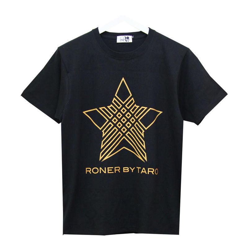 RONER  NAKED STAR  T-shirt GOLD