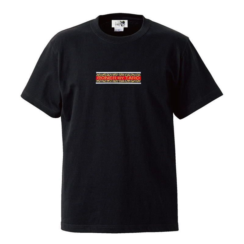 RONER   Arabesque Box logo T-shirt