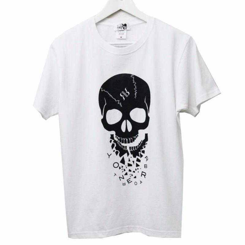 GLASS JAW  t-shirt   vol.2  WHITE
