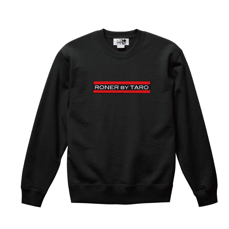 RONER Red Line Box logo sweat shirt