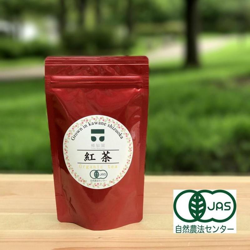 無農薬・無化学肥料 川根茶 紅茶(ティーバッグ)(内容量: 40g(2g×20袋))