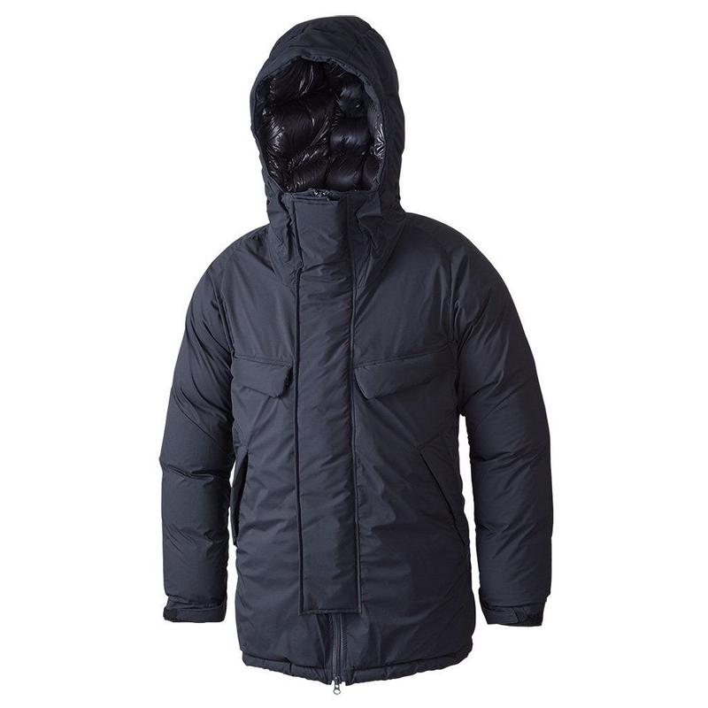NANGA MOUNTAIN BELAY COAT  BLACK