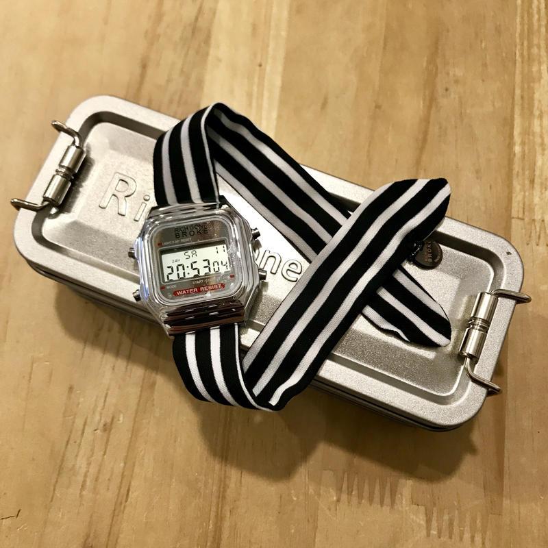 Rich Gone Broke(Silver Digital Case- Bk Star Liberty Strap)