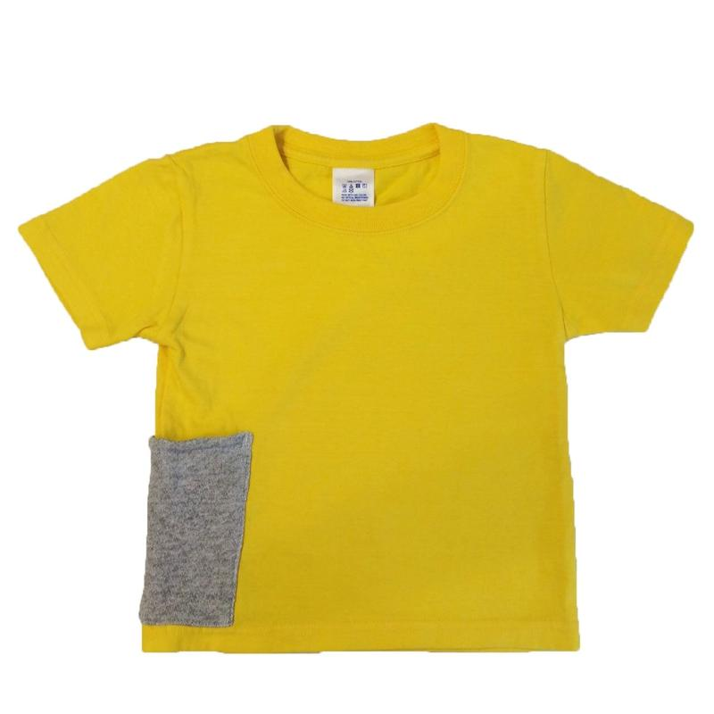 【Anti-weathers】    Anti-mosquito  Kid's  Tee    yellow