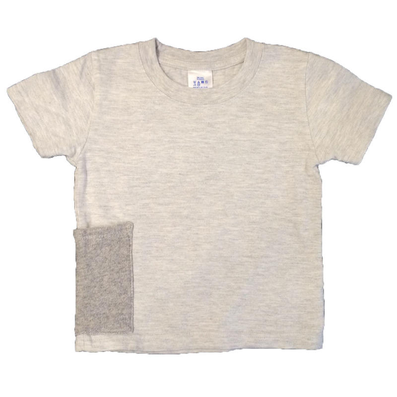 【Anti-weathers】    Anti-mosquito  Kid's  Tee   oatmeal