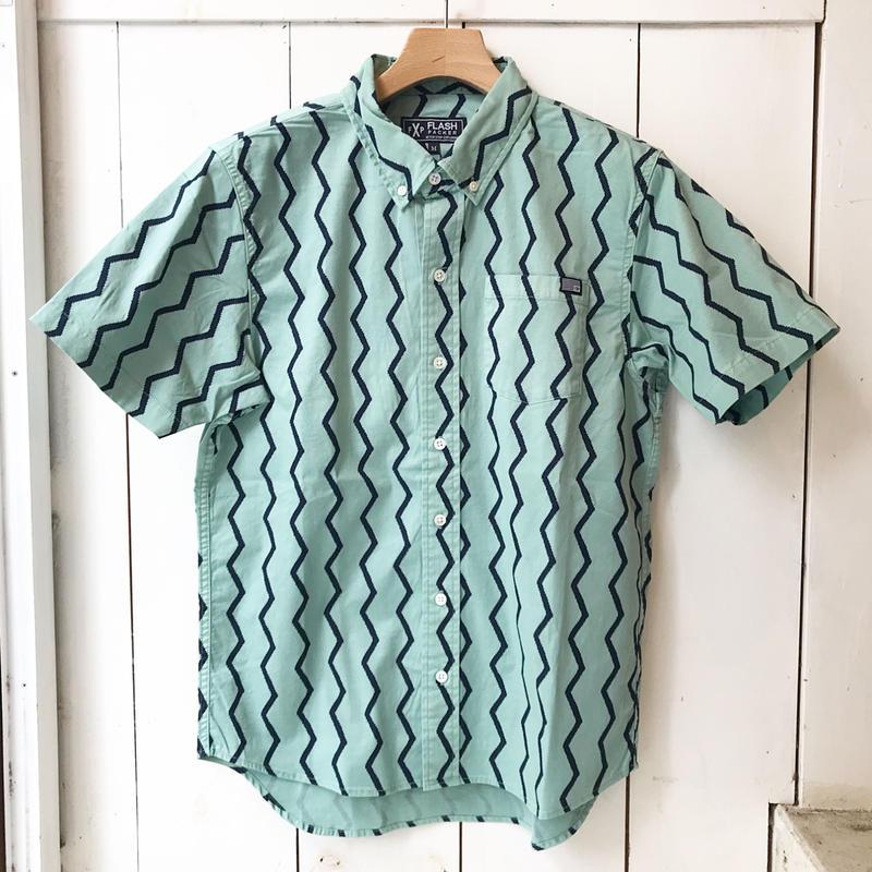 FLASHPACKER ガーメントダイS/Sシャツ  MINT