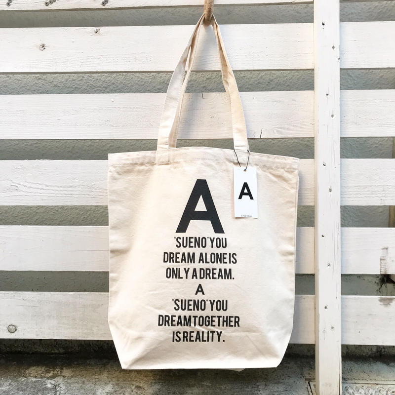 A by PALMSTROKE   LOGO TOTE BAG