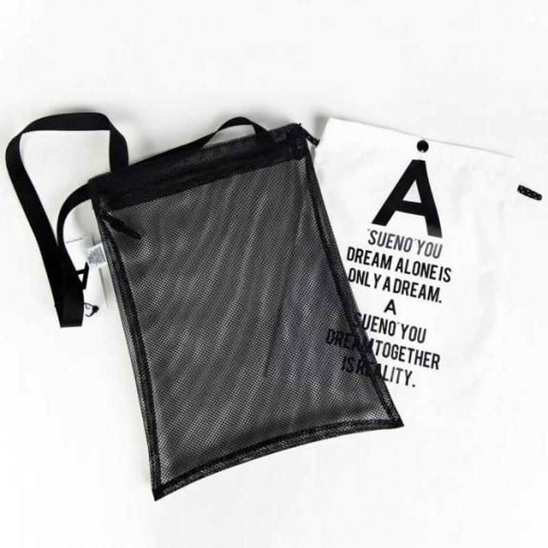 A by PALMSTROKE   MESH SHOULDER BAG
