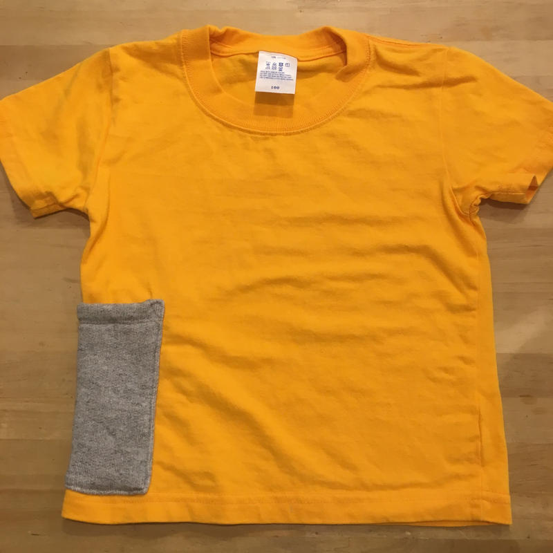 【Anti-weathers】    Anti-mosquito  Kid's  Tee   softorange