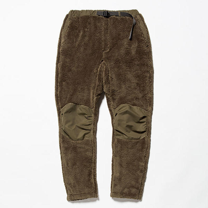 meanswhile Behavior Fleece Pants   KHAKI