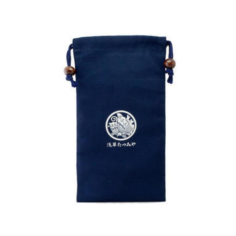 Tatsumiya's original drawstring bag (kinchaku)