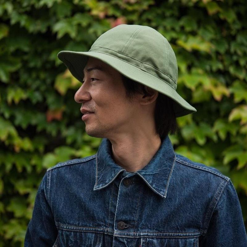 TCB 30's HAT Bright Green Back Sateen