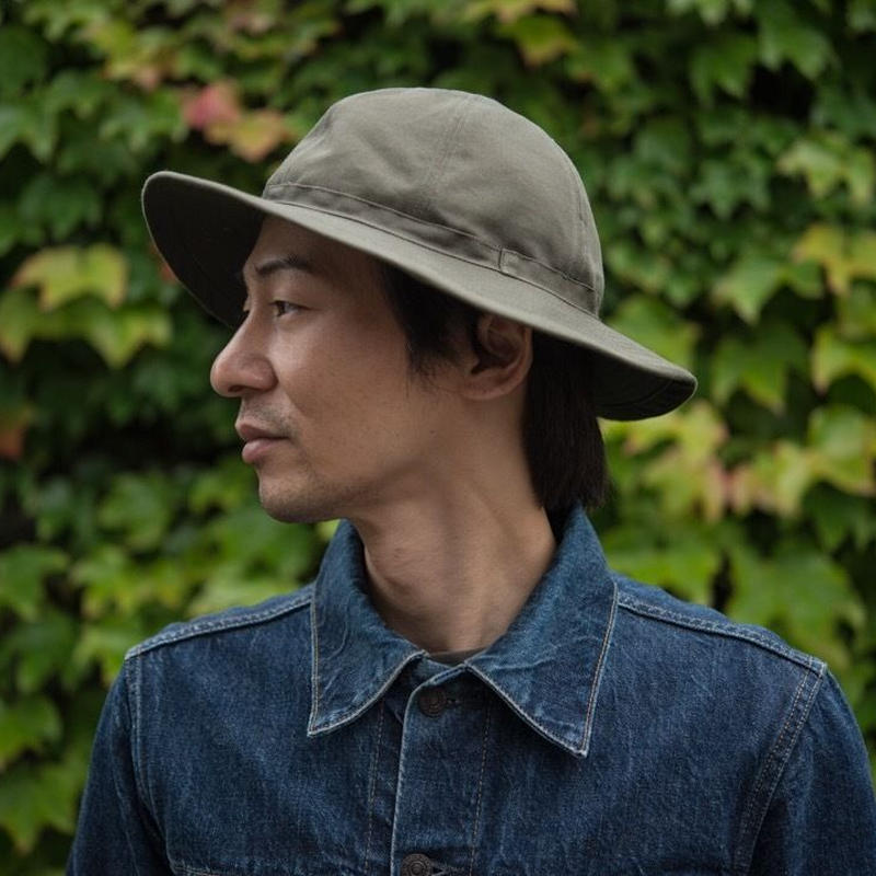 TCB 30's HAT Olive Chino Cloth
