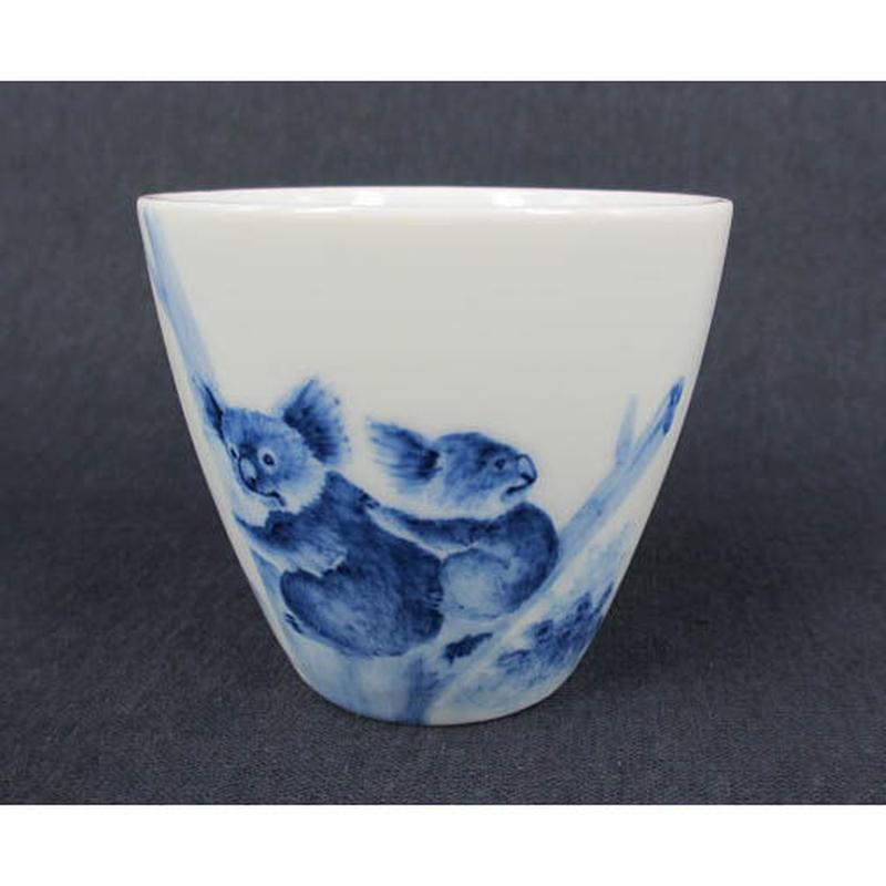 青花喜用杯(コアラ)