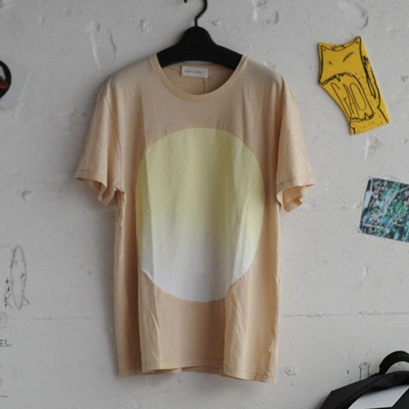 ★ CORRELL CORRELL (コレルコレル) / GRADIENT CIRCLE T SHIRTS  (NATURAL/SIZE / L) ★