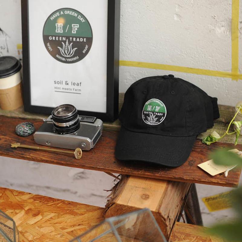 ★ HINT GREEN TRADE / OLD CAP (BLACK x GREEN) ★