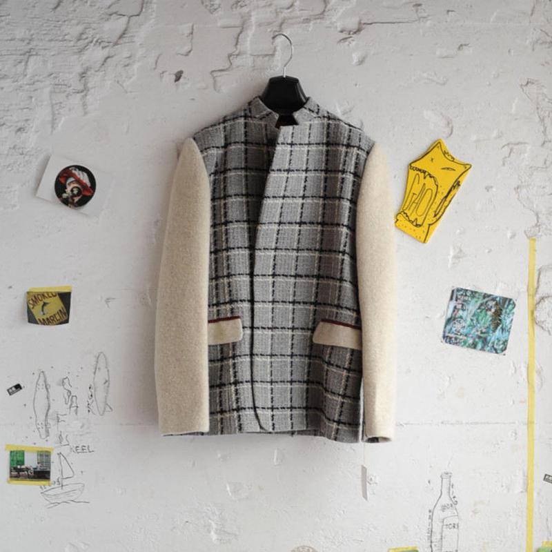★ ohta (オータ) / check jacket ★
