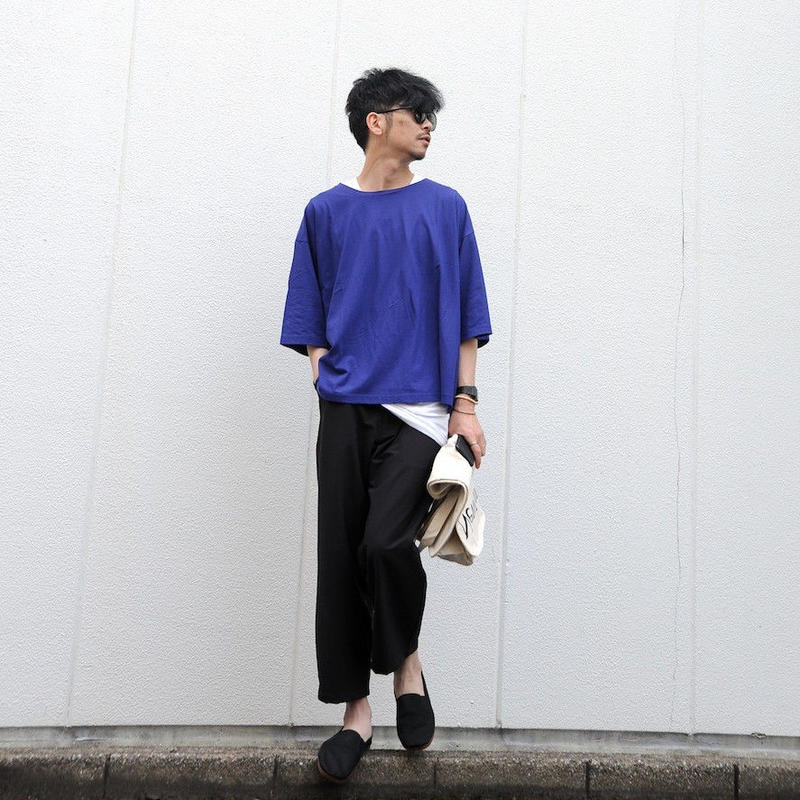 ★ SUPER Daily / ice cotton lc T shirt (R.BLUE) ★