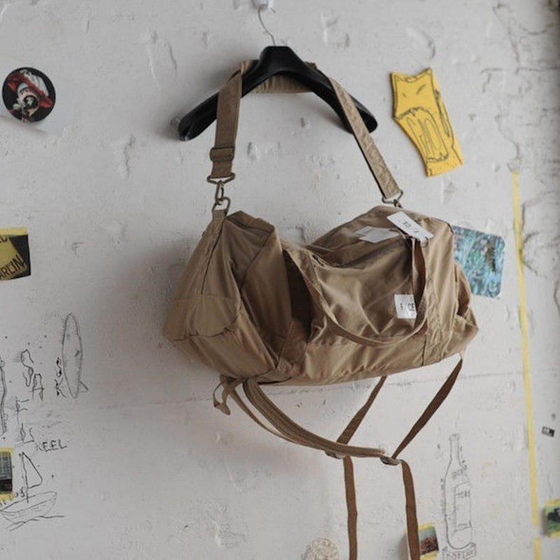★ F/CE. / WASH NYLON PACKABLE 3 WAY BOSTON (BEIGE)