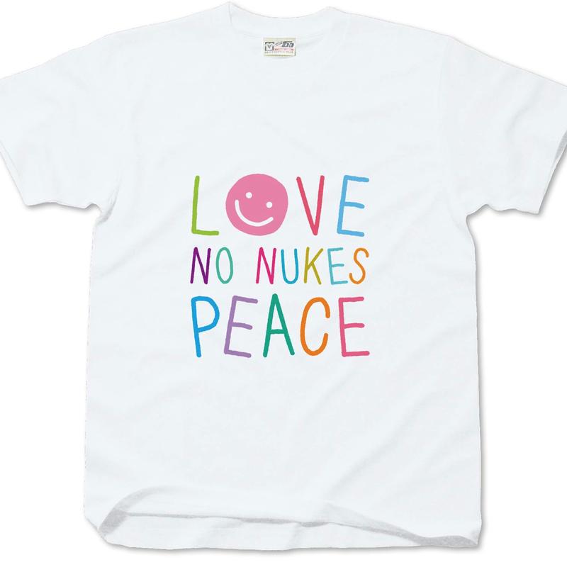 """No Nukes T-shirt """"Colours"""" for kids"""