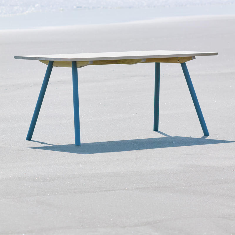 CALM TABLE アッシュ  × オイル塗装 W140