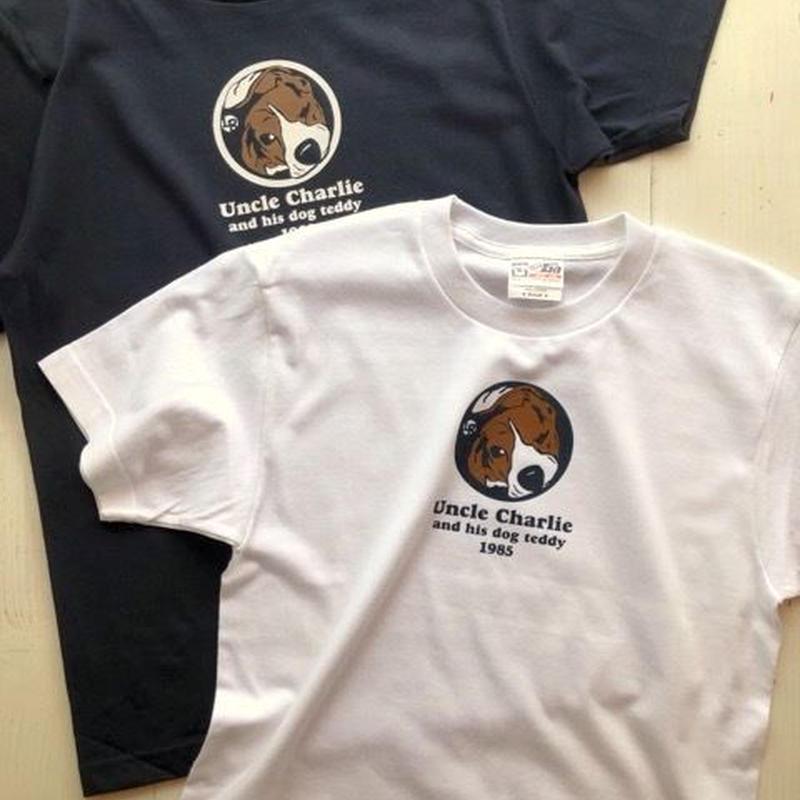 ビーグルイラストTシャツ: