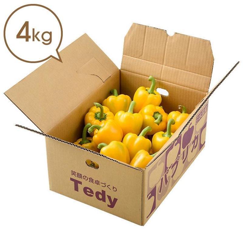 Tedyのパプリカ(黄)4kg詰め